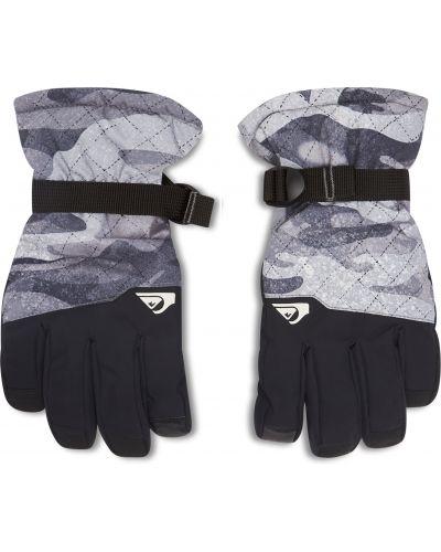 Szare rękawiczki narciarskie Quiksilver