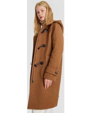 Длинное пальто пальто Stradivarius