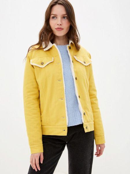Джинсовая куртка - желтая Dasti