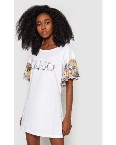 Biała sukienka Liu Jo Beachwear