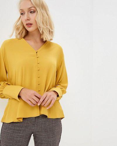 Блузка с длинным рукавом желтый Piazza Italia