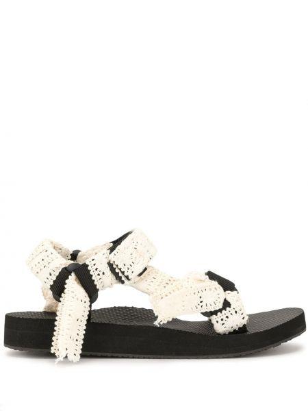 Sandały czarne beżowy Arizona Love