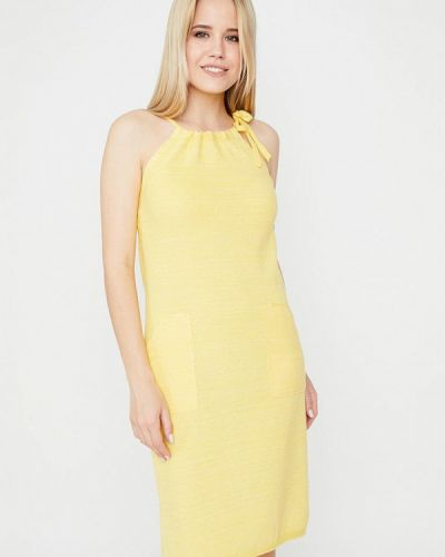 Желтое платье Прованс