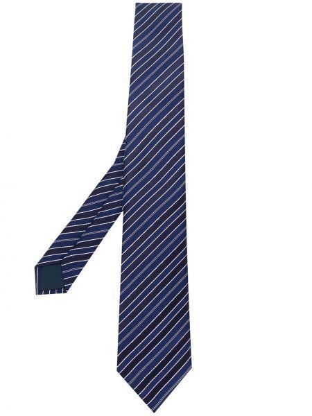 Синий галстук Lanvin