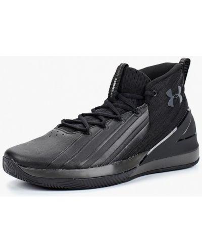 Высокие кроссовки из искусственной кожи Under Armour