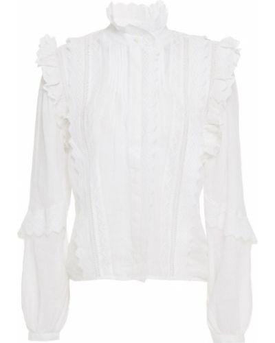 Кружевная блузка - белая Frame