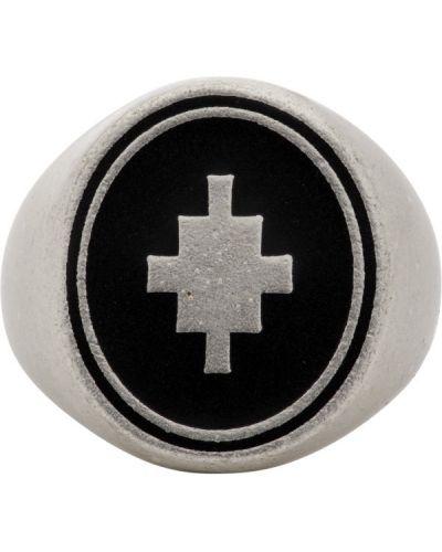 Черный крест металлический Marcelo Burlon County Of Milan
