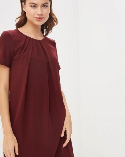 Платье бордовый красный Lusio
