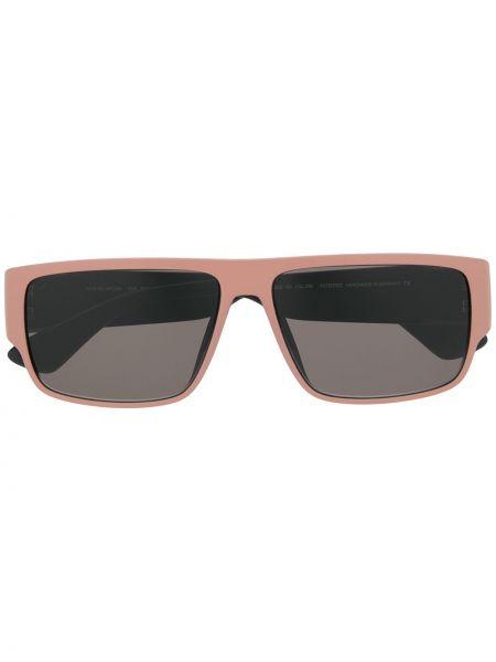 Розовые солнцезащитные очки прямоугольные Thierry Lasry