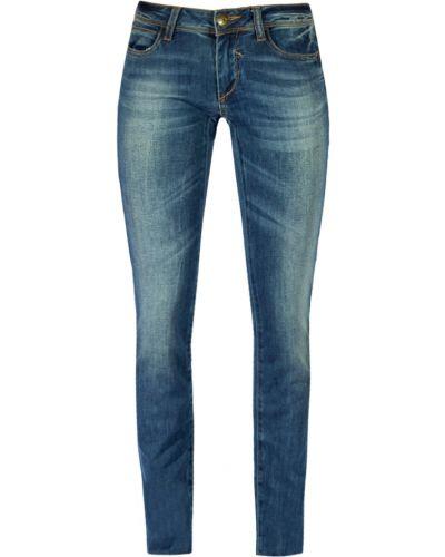 Зауженные джинсы - голубые Rifle