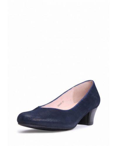 Синие замшевые туфли Alessio Nesca