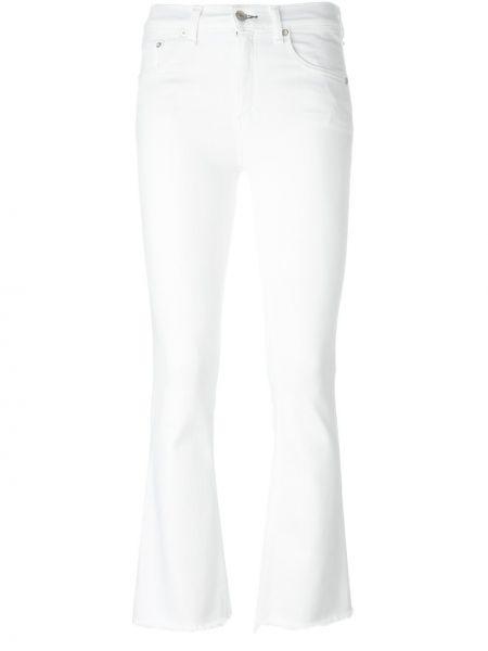 Прямые джинсы белые Rag & Bone/jean
