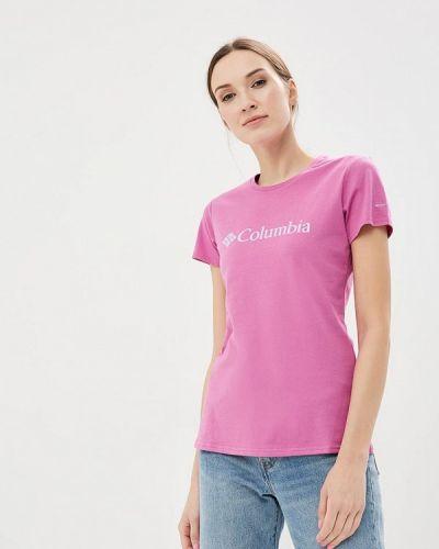 Розовое поло Columbia