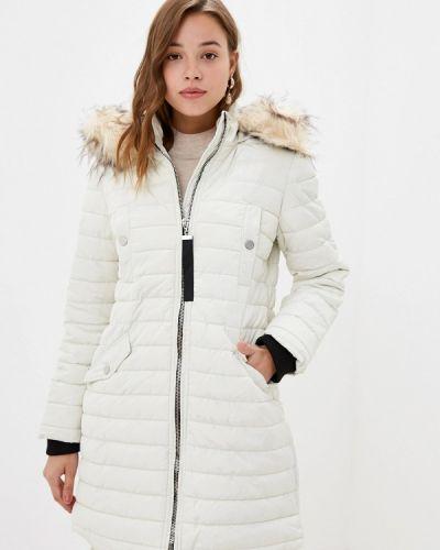 Утепленная куртка - белая Bruebeck