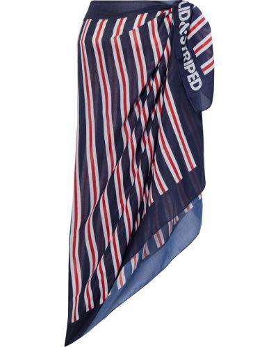 Облегченное текстильное парео в полоску Solid & Striped