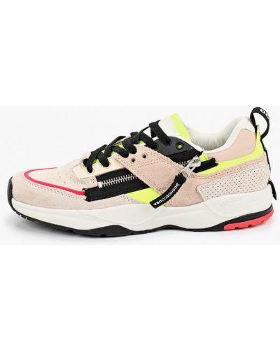 Кожаные кроссовки - розовые Dc Shoes