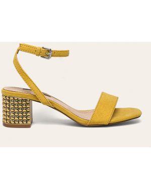 Żółte sandały Corina