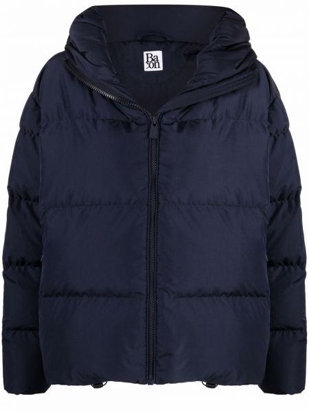 Куртка с капюшоном - синяя Bacon