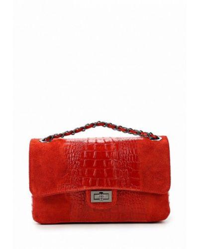 Кожаный сумка замшевая Roberta Rossi
