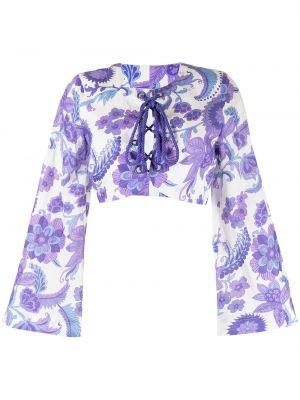 Хлопковый топ - фиолетовый Alice Mccall