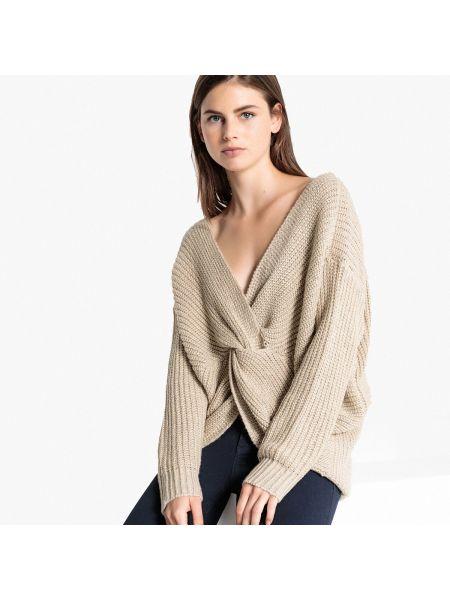 Пуловер вязаный с V-образным вырезом Lpb Woman