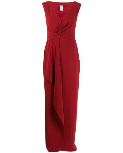 Вечернее платье длинное - красное Max Mara Studio
