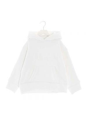 Bluza dresowa - biała Mm6 Maison Margiela
