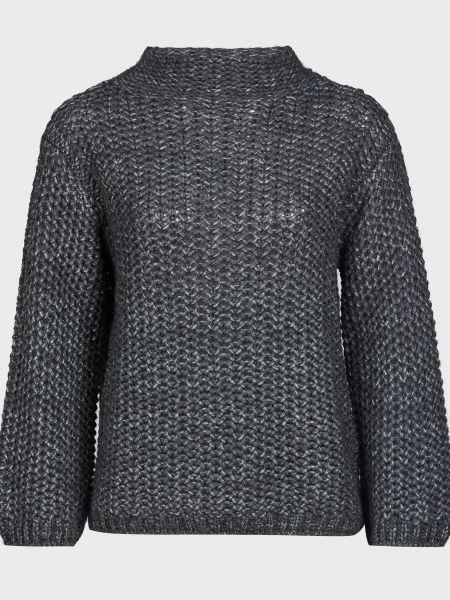 Серый шерстяной свитер Luisa Spagnoli