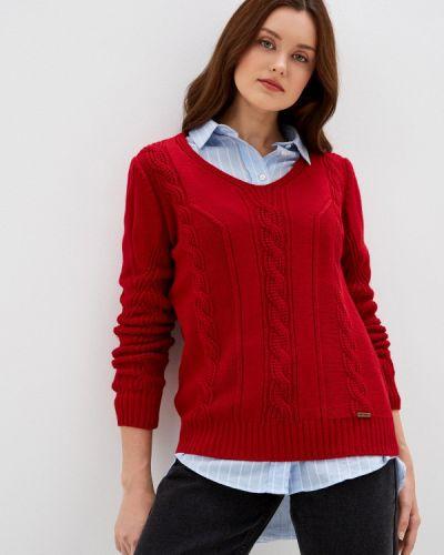 Красный пуловер Jimmy Sanders