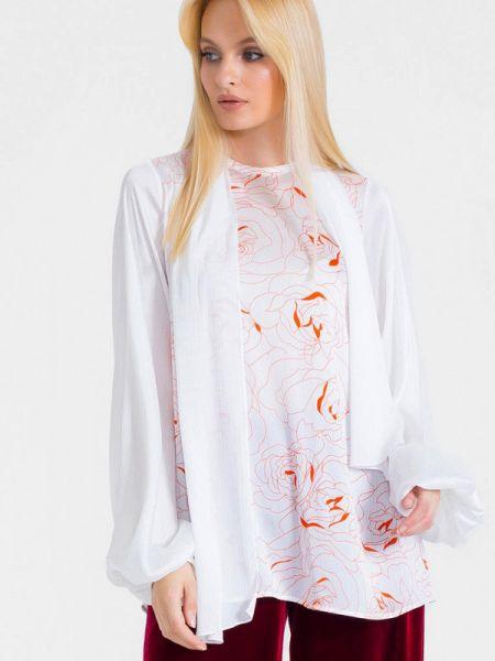 Блузка белая весенний Lo