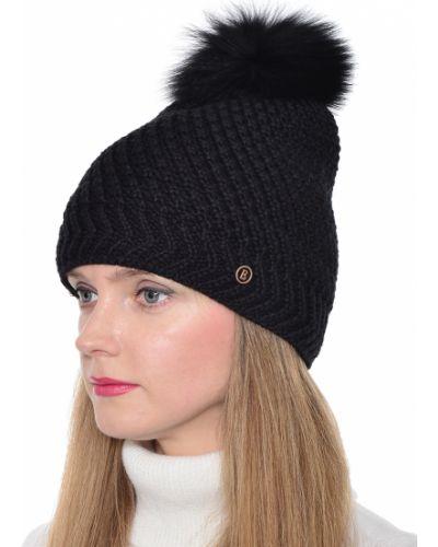 Акриловая черная шапка Bogner
