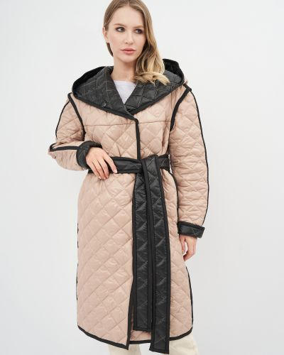 Куртка с поясом - бежевая Niktan