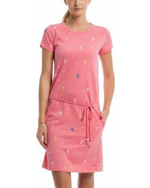 Розовое летнее платье Bench