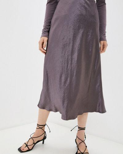 Фиолетовая зимняя юбка Max Mara Leisure