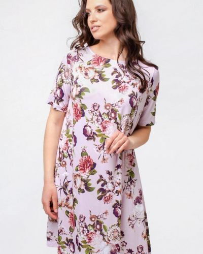 Розовое повседневное платье Prima Linea