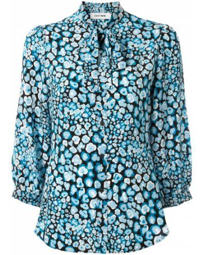 Свободная блузка с бантом Cefinn