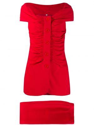 Платье с поясом винтажная на пуговицах Gianfranco Ferre Pre-owned