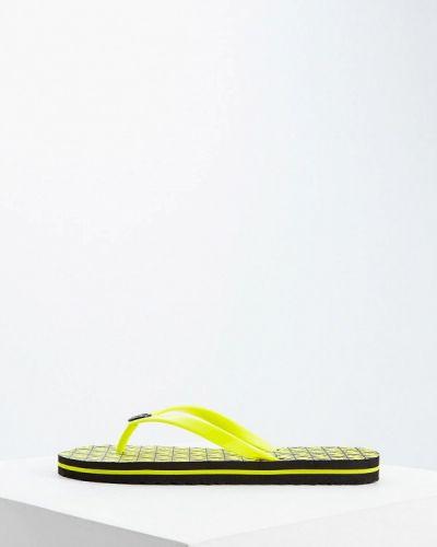 Сланцы пляжные желтый Michael Michael Kors