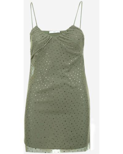 Klasyczna sukienka tiulowa z cekinami Mango