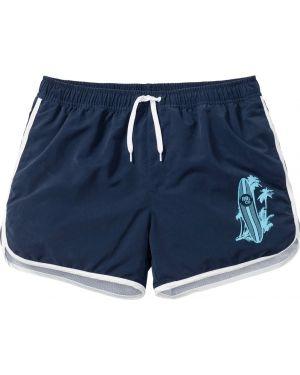 Пляжные шорты синий Bonprix