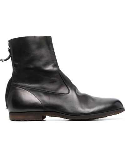 Кожаные ботинки - черные Premiata