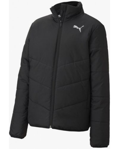 Утепленная черная куртка Puma