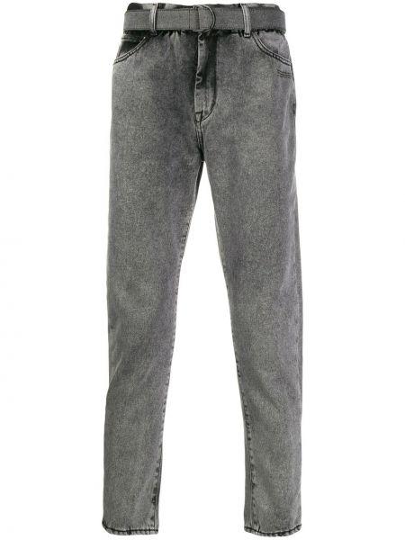 Классические белые джинсы с карманами узкого кроя Off-white