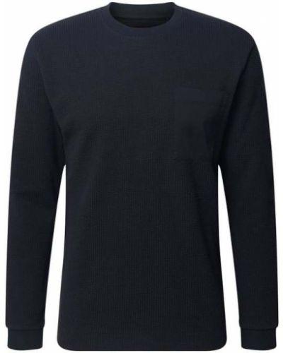 Niebieski sweter bawełniany Drykorn