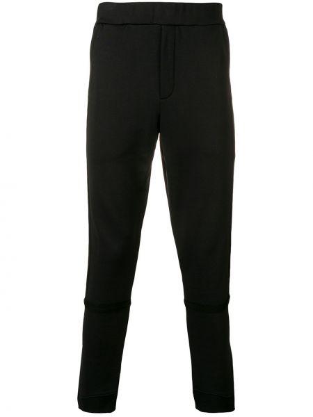 Spodnie bawełniane - czarne Mcq Alexander Mcqueen