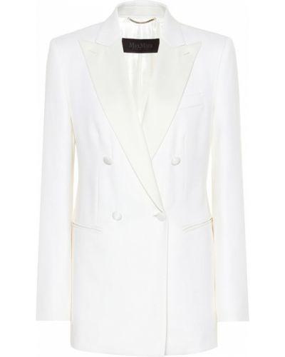 Пиджак шерстяной смокинг Max Mara