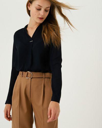 Блузка с длинным рукавом синяя весенний Lime