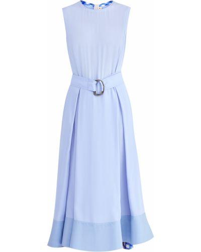 Платье из вискозы шелковое Marni
