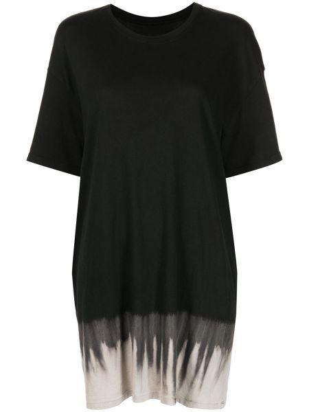 Платье мини короткое - черное Raquel Allegra