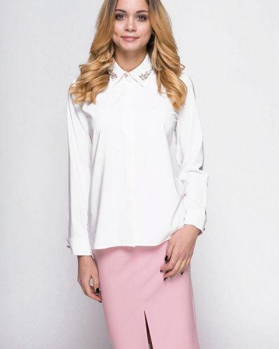Юбочный костюм белый розовый Zubrytskaya